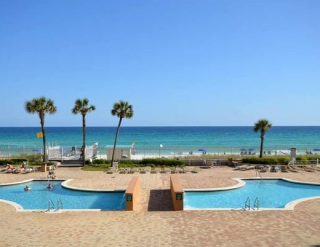 Silver Beach Towers Condos Outdoor Pool Destin Florida